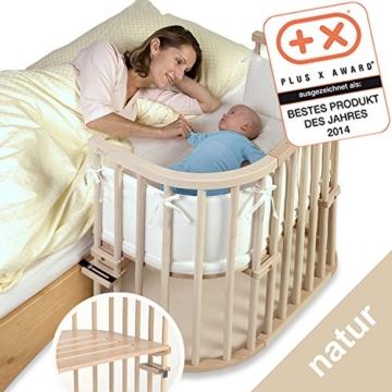 babybay 100110 Original natur unbehandelt extra belüftet Beistellbett - 5