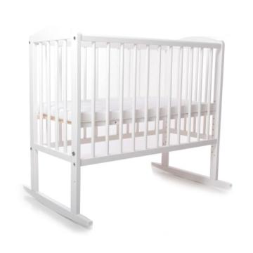 Kinderbett Gitterbett Beistellbett Maria 90x40cm - Weiß - 2