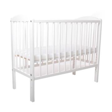 Kinderbett Gitterbett Beistellbett Maria 90x40cm - Weiß - 5