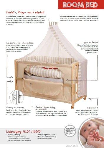roba beistellbett room bed beistellbett f r babys. Black Bedroom Furniture Sets. Home Design Ideas