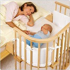 Babybay, das Original Babybett, Kinderbett, Beistellbett!, Braun lasiert -