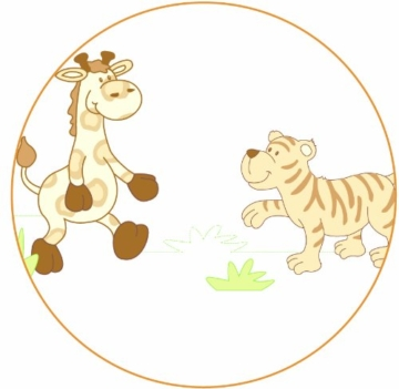 Roba  8943W P72 - Babysitter 4 in 1 Stubenbett Safari -