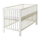 IKEA GULLIVER Babybett in weiß - 1